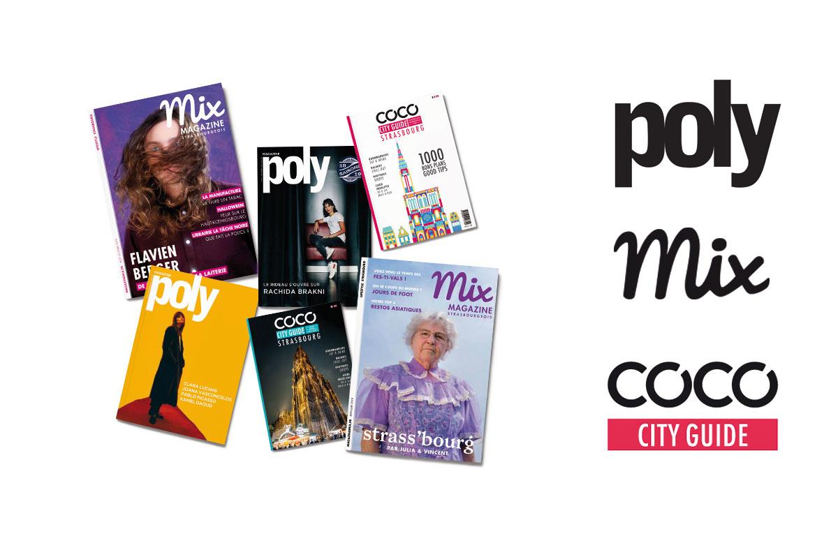 Les différentes éditions de BKN : Poly, Mix et COCO